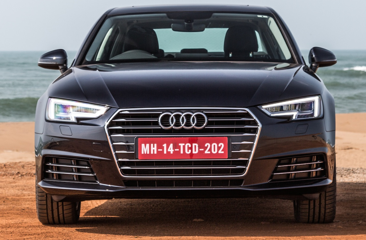 2016 Audi A4 front Review