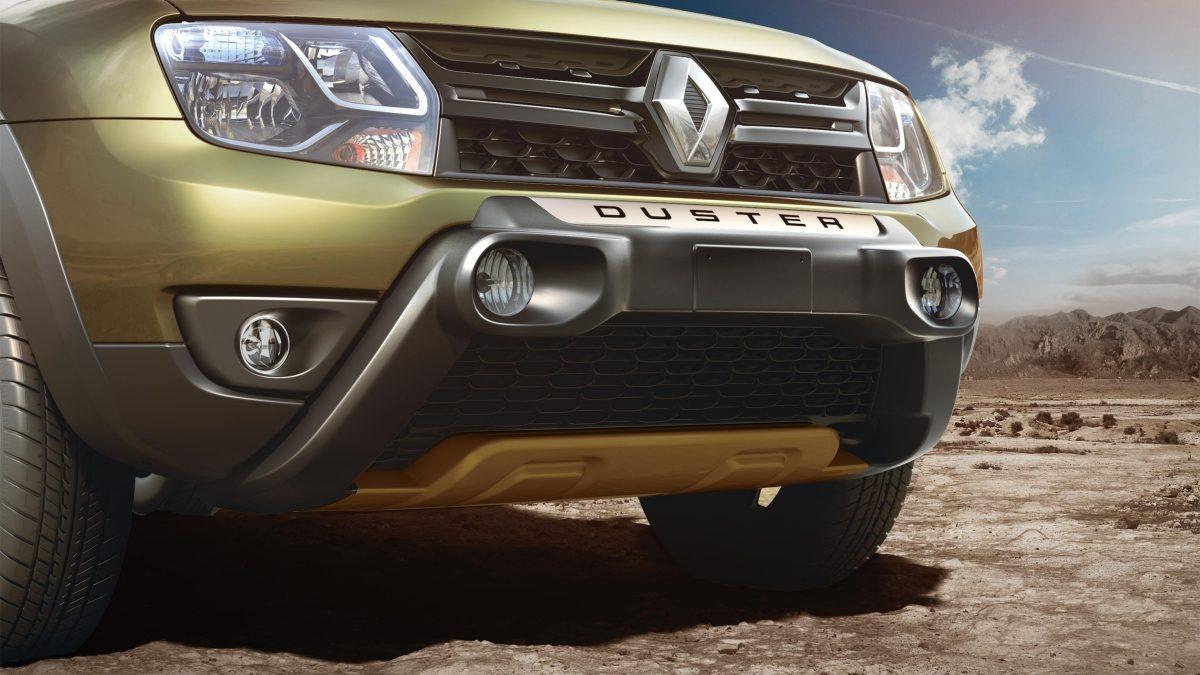 2016 Renault Duster Adventure Edition bumper press image