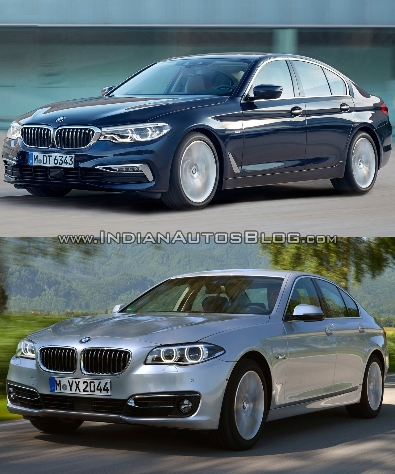 BMW 5 Series: Radar sensor