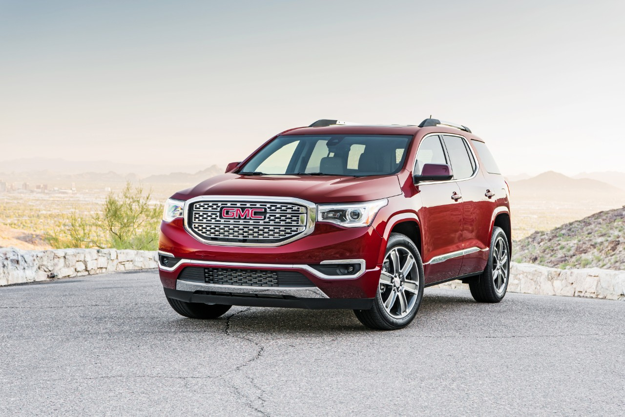 2017 gmc acadia to go on sale in the middle east this month. Black Bedroom Furniture Sets. Home Design Ideas