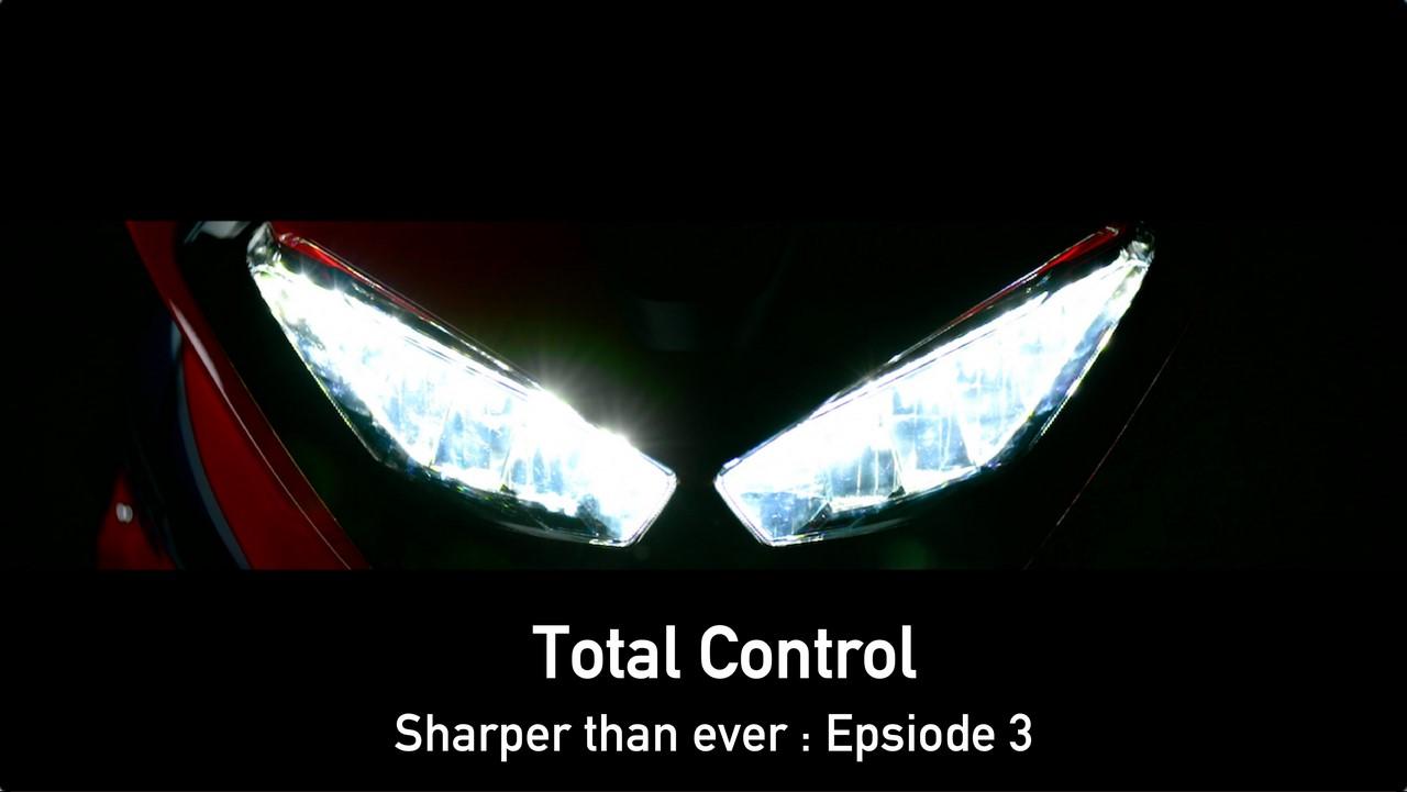 2017 Honda CBR1000RR Fireblade headlamp teaser