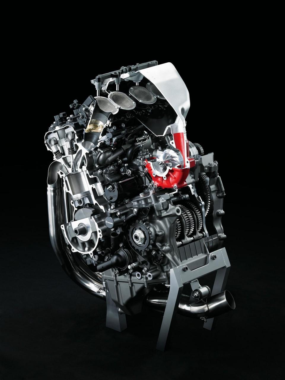 Kawasaki Ninja H2r >> 2017 Kawasaki Ninja H2R engine