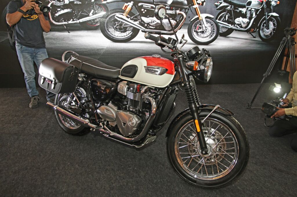 Triumph Bonneville T100 Launched In India At Inr 778 Lakhs
