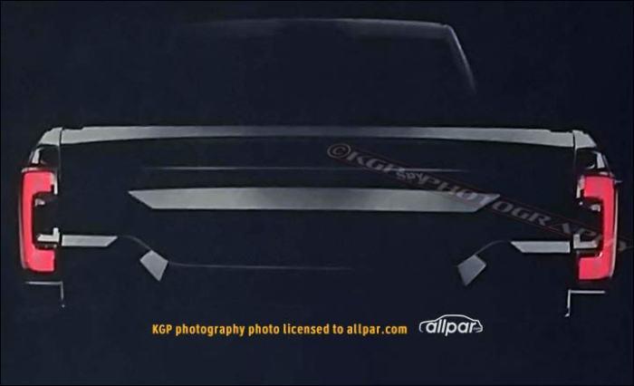 2019 Ram 1500 rear leaked image