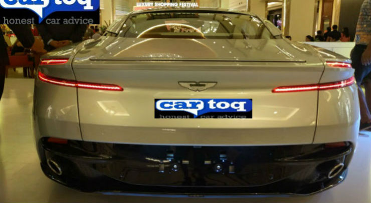 Aston Martin DB11 rear India launch