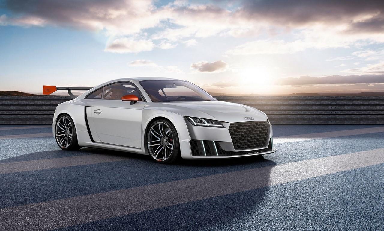 Audi TT Clubsport turbo concept front three quarters
