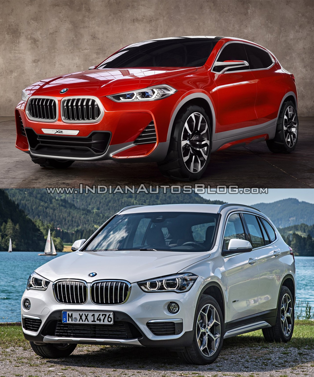 Bmw X2 Vs Bmw X1 In Images