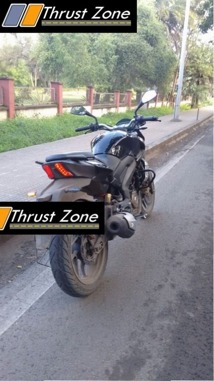 Bajaj Kratos VS400 rear spied uncamouflaged