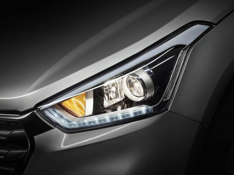 Hyundai Creta South America grille teased