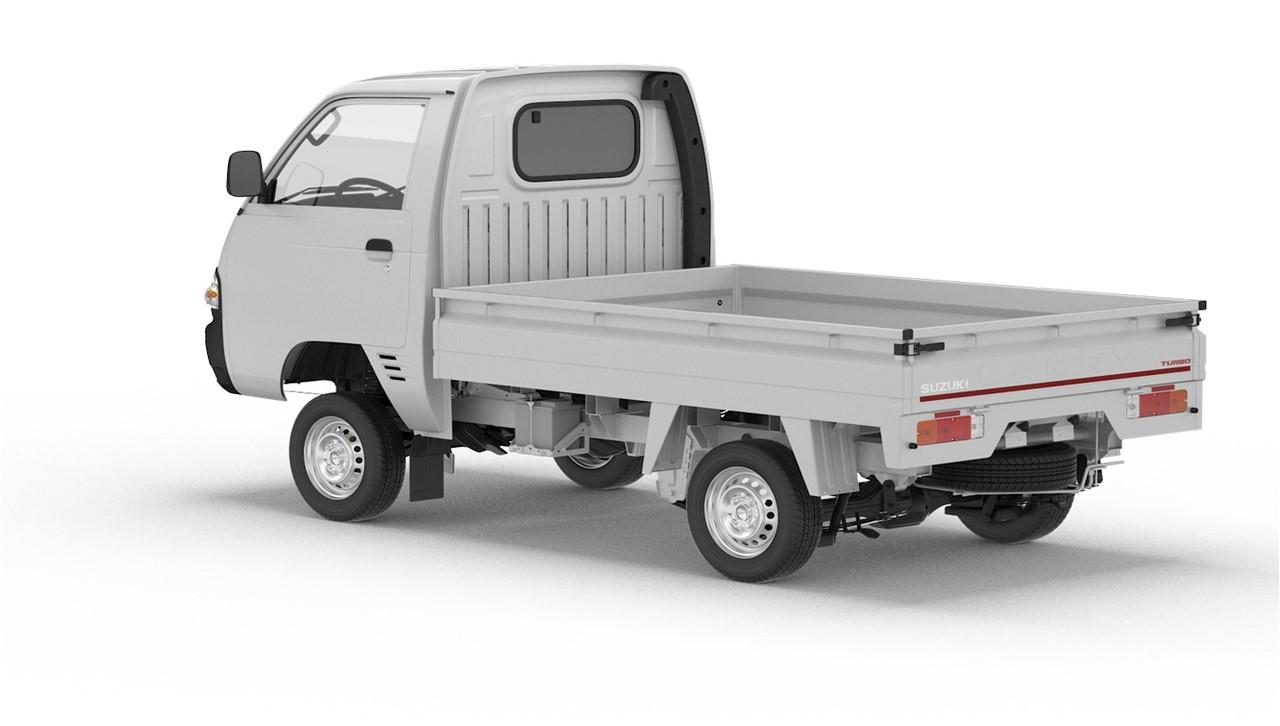 Nigerian-spec Suzuki Super Carry rear three quarters
