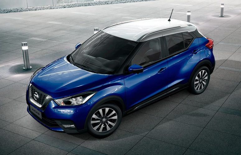Nissan unveils more dual tone options for Nissan Kicks SUV
