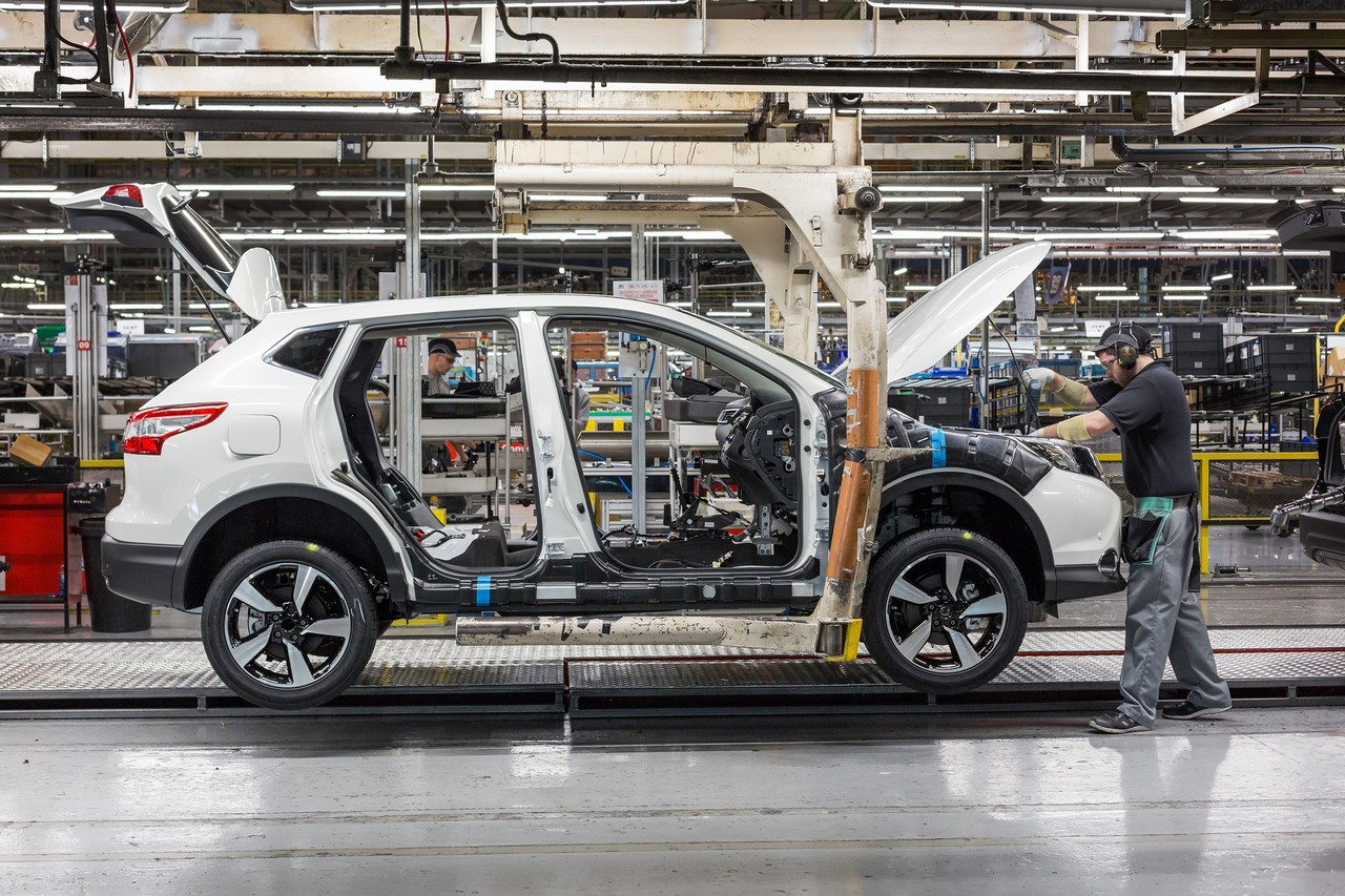 Nissan Qashqai production