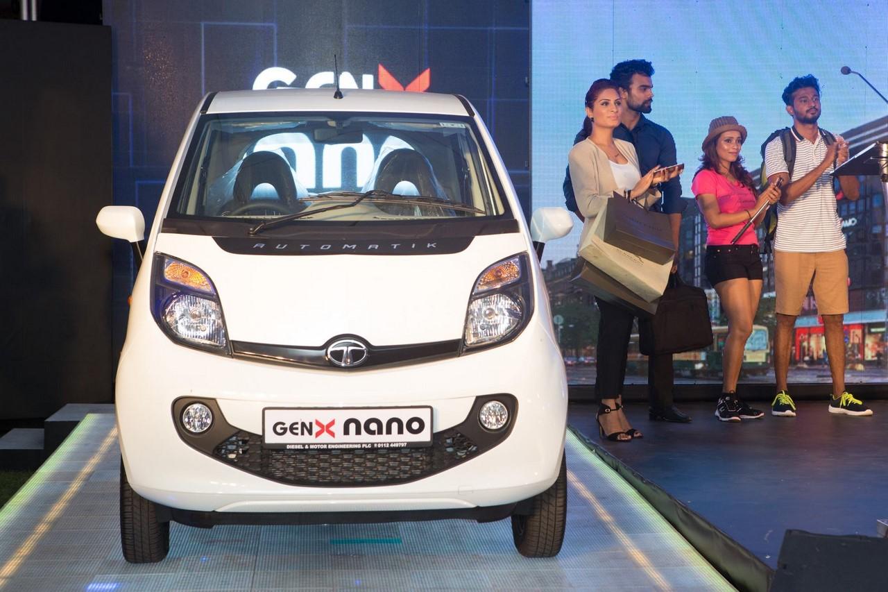Tata Nano GenX Automatik front
