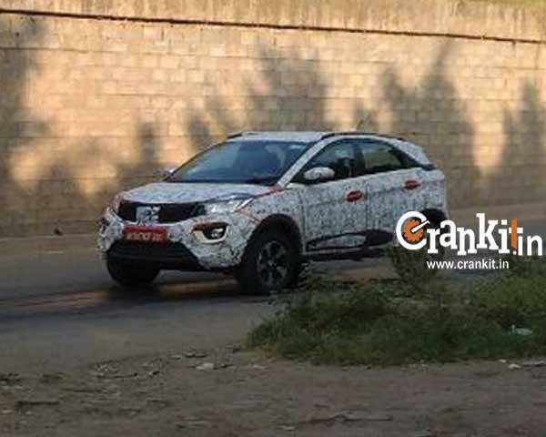 Tata Nexon front quarter spied in Pune