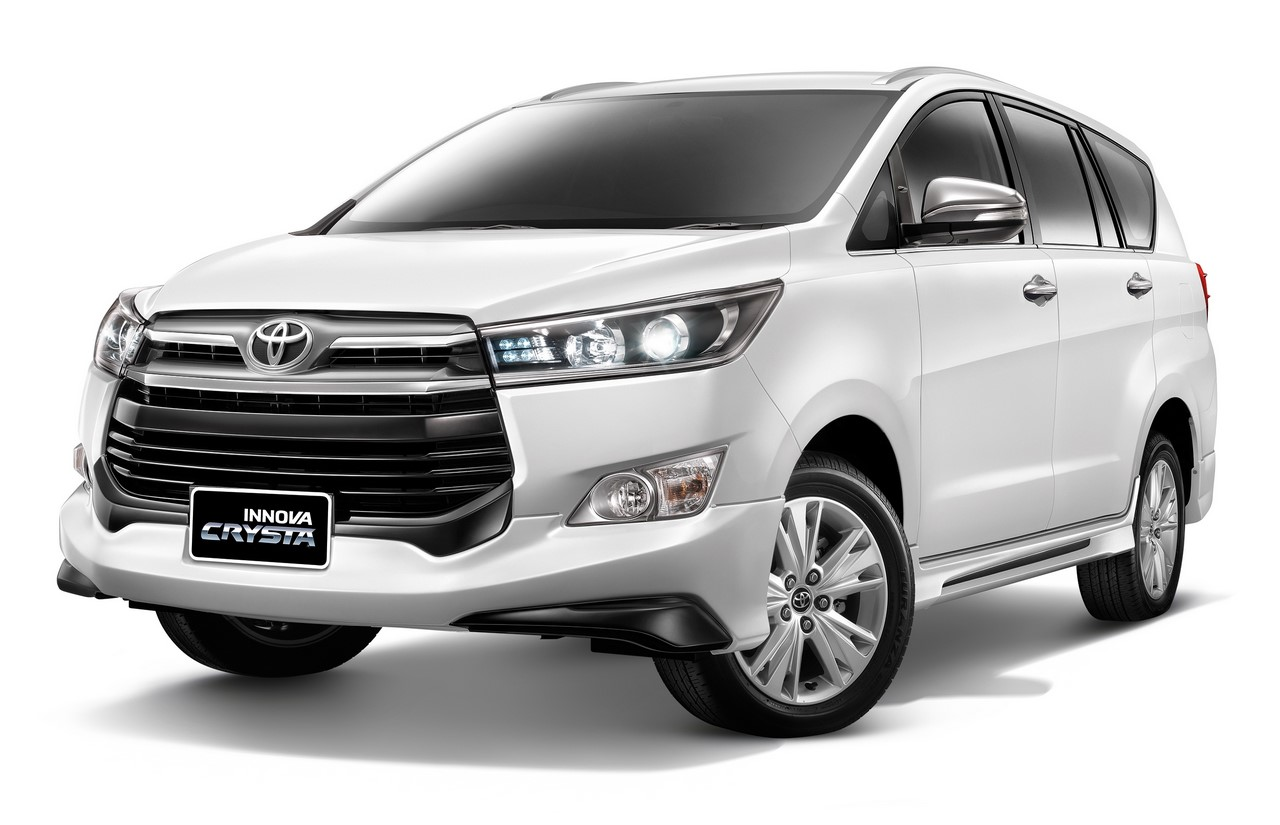 toyota innova crysta launched with a bodykit in thailand