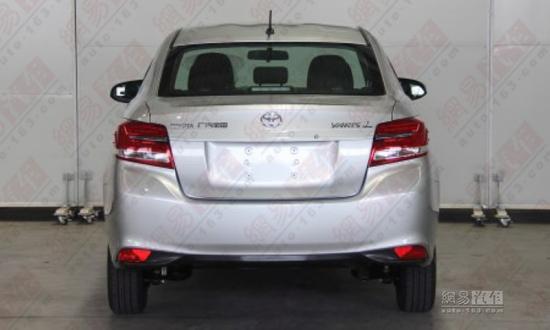 Toyota Yaris L Sedan rear