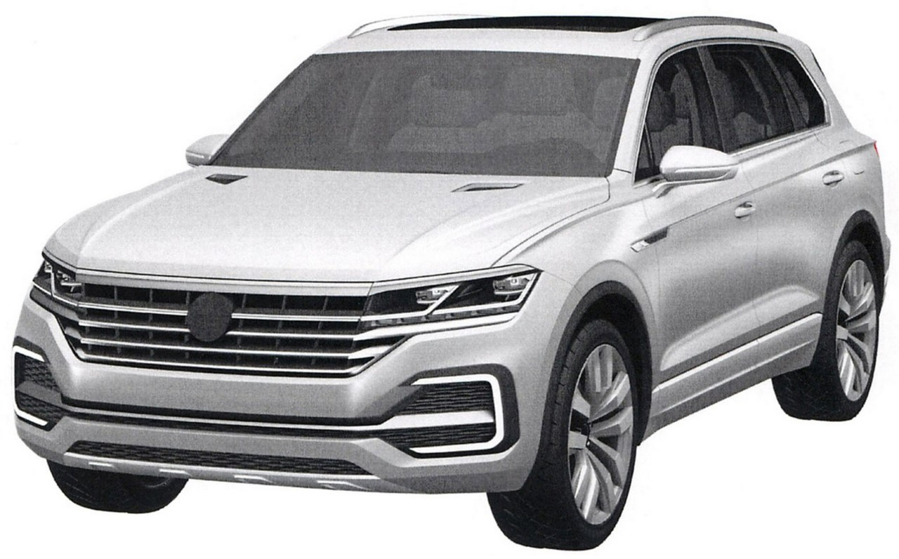 VW T-Prime Concept GTE rendering front three quarters left side