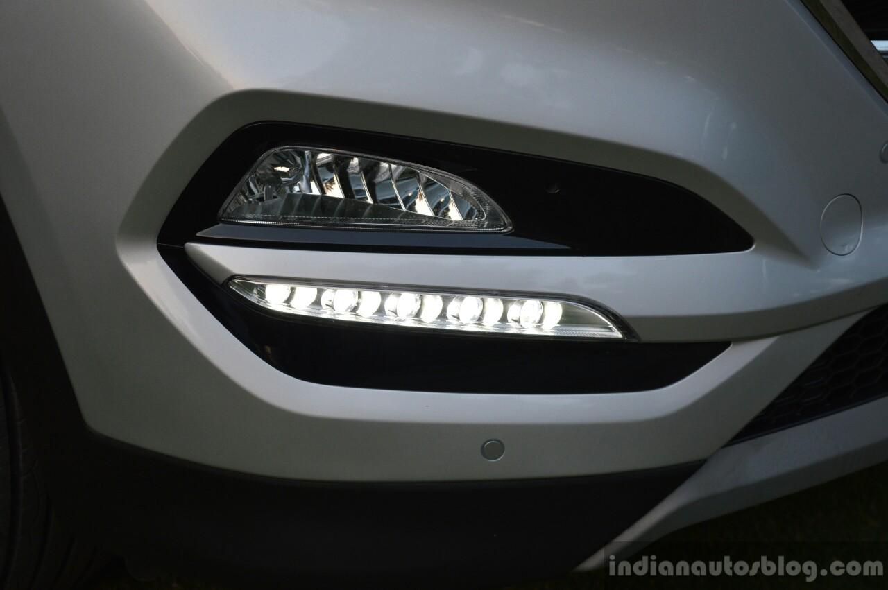 2016 Hyundai Tucson foglamp Review