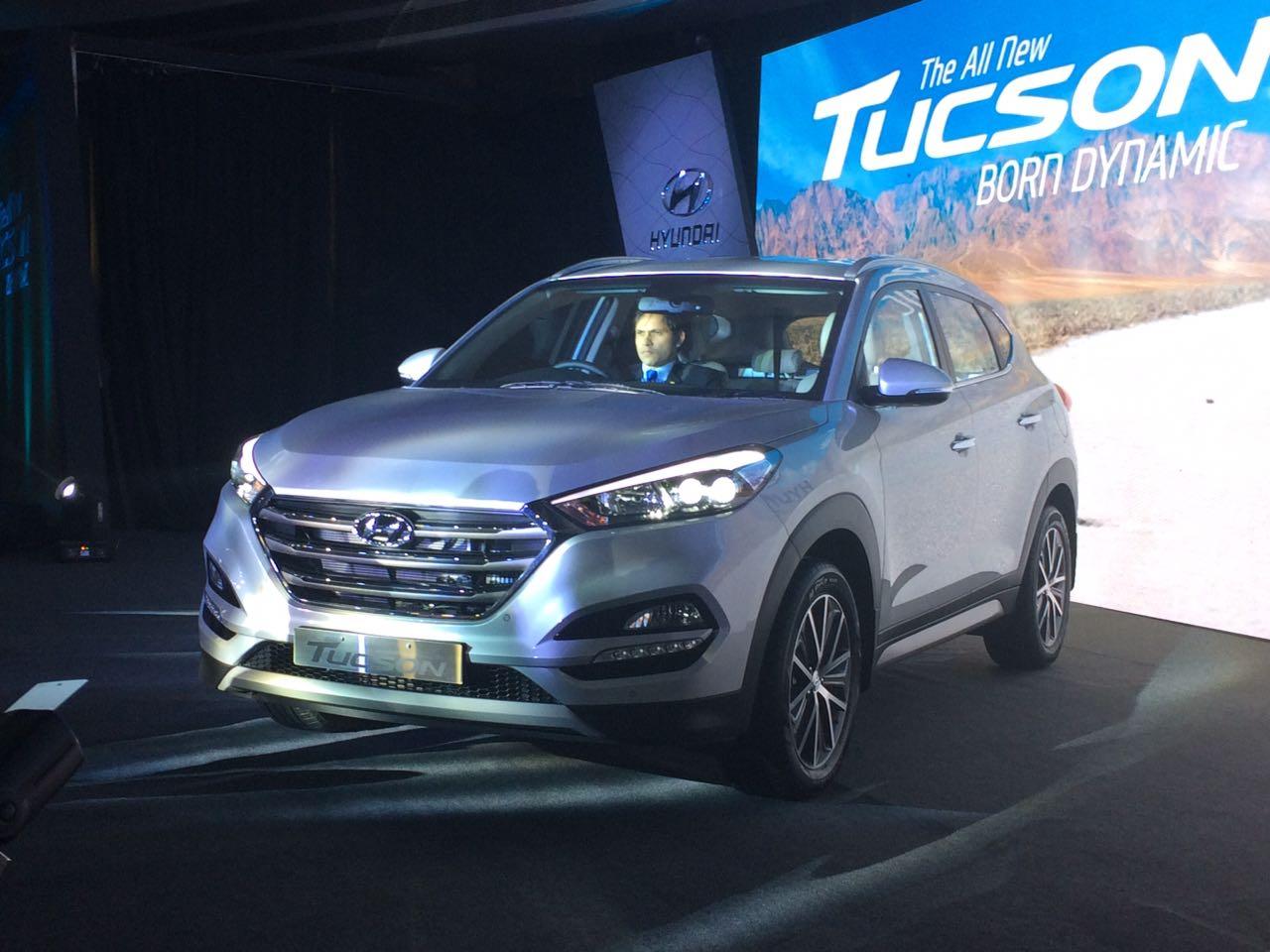 2016 Hyundai Tucson launched India