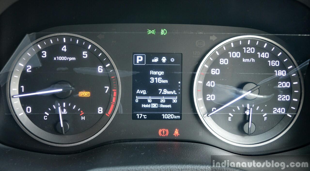 2016 Hyundai Tucson mileage Review