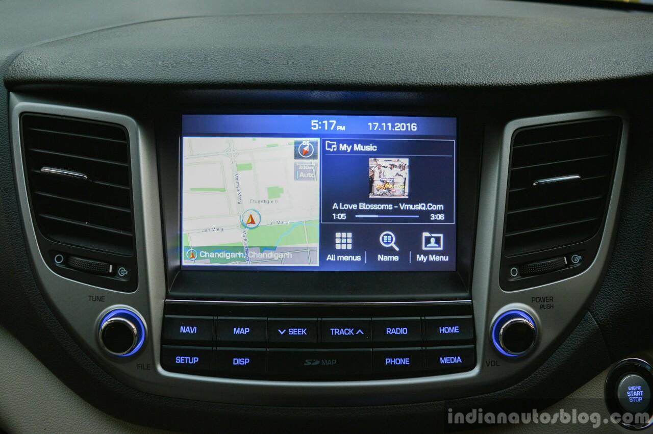 2016 Hyundai Tucson touchscreen Review