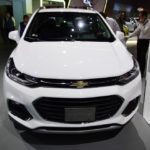 2017 Chevrolet Tracker front at 2016 Bogota Auto Show