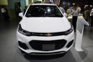 2017 Chevrolet Tracker front at 2016 Bogota Auto Show