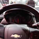 2017 Chevrolet Tracker instrument panel at 2016 Bogota Auto Show