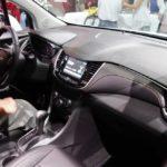 2017 Chevrolet Tracker interior at 2016 Bogota Auto Show