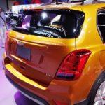 2017 Chevrolet Tracker rear fascia at 2016 Bogota Auto Show