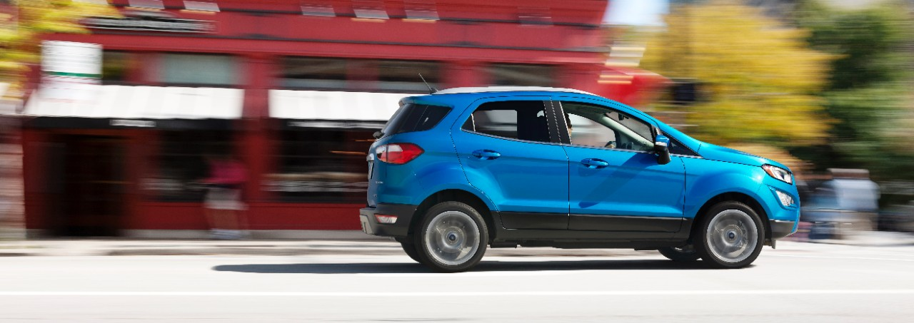 2017 Ford EcoSport (facelift) profile