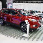 2017 Ford Escape front three quarters right side at 2016 Bogota Auto Show