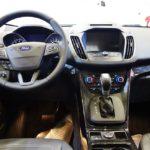 2017 Ford Escape interior at 2016 Bogota Auto Show