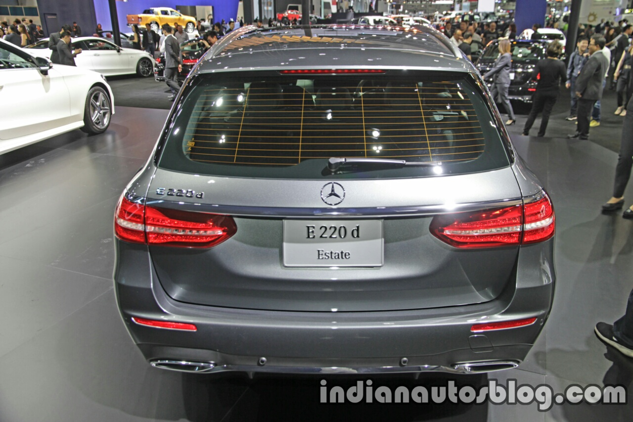 2017 Mercedes E-Class Estate rear at 2016 Thai Motor Expo
