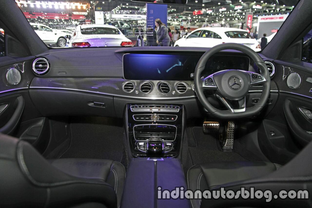 2017 Mercedes E Class Interior Dashboard At 2016 Thai Motor Expo