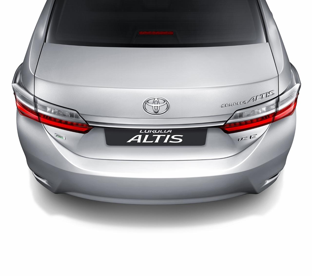 2017 Toyota Corolla Altis rear end Thailand