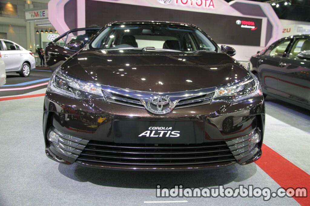 2017 Toyota Corolla front at 2016 Thai Motor Expo
