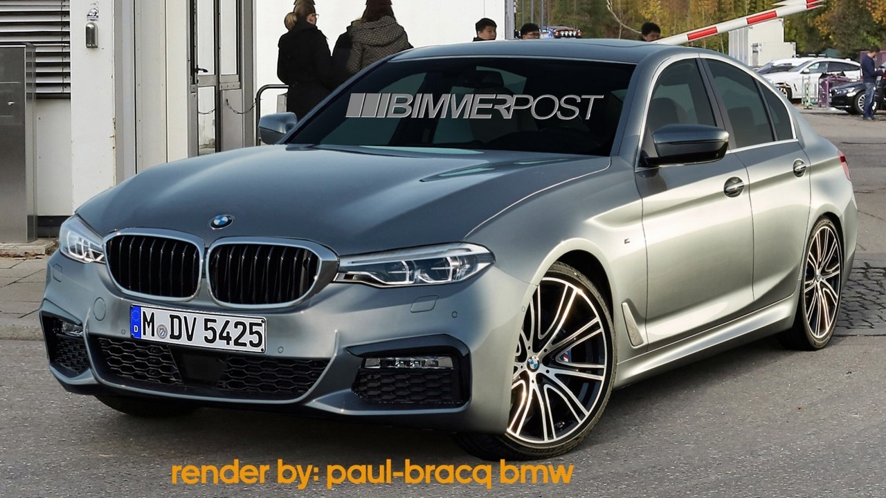 2018 Bmw 3 Series Looks Like A Mini 5 Series Rendering
