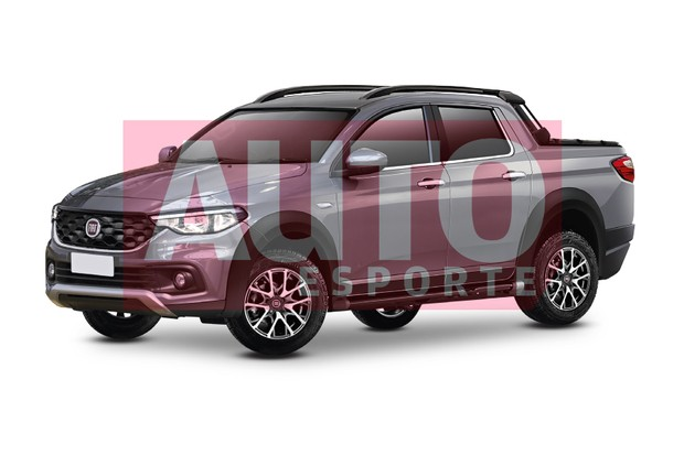 2018 Fiat Strada grey front three quarters rendering