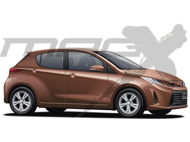 Tnga Platform Based Next Gen Toyota Yaris Rendered