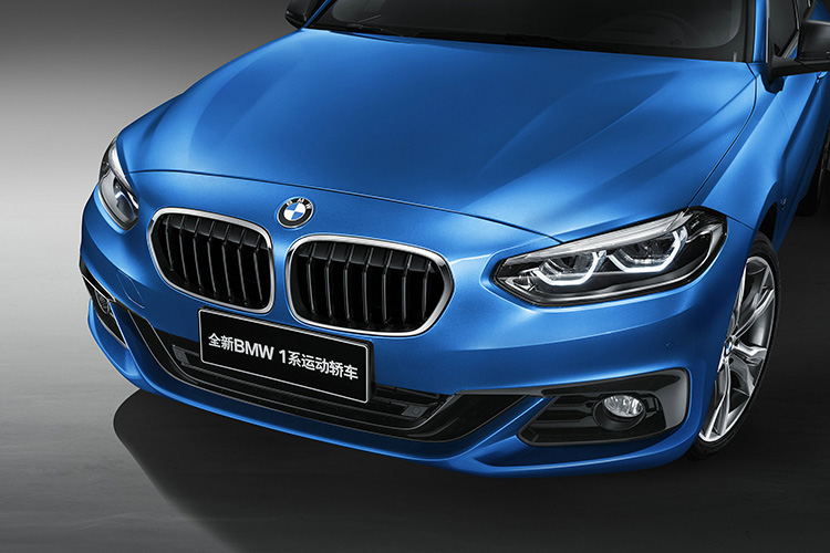 BMW 1 Series Sedan front fascia