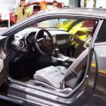 Chevrolet Camaro 50th Anniversary Edition interior at 2016 Bogota Auto Show
