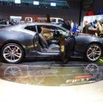 Chevrolet Camaro 50th Anniversary Edition profile at 2016 Bogota Auto Show