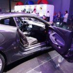 Chevrolet Camaro 50th Anniversary Edition right door open at 2016 Bogota Auto Show