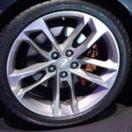 Chevrolet Camaro 50th Anniversary Edition wheel at 2016 Bogota Auto Show