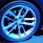 Chevrolet Camaro 50th Anniversary Edition wheel at 2016 Bogota Auto Show second image