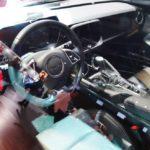 Chevrolet Camaro SS interior at 2016 Bogota Auto Show