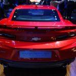 Chevrolet Camaro SS rear at 2016 Bogota Auto Show