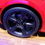 Chevrolet Camaro SS wheel at 2016 Bogota Auto Show