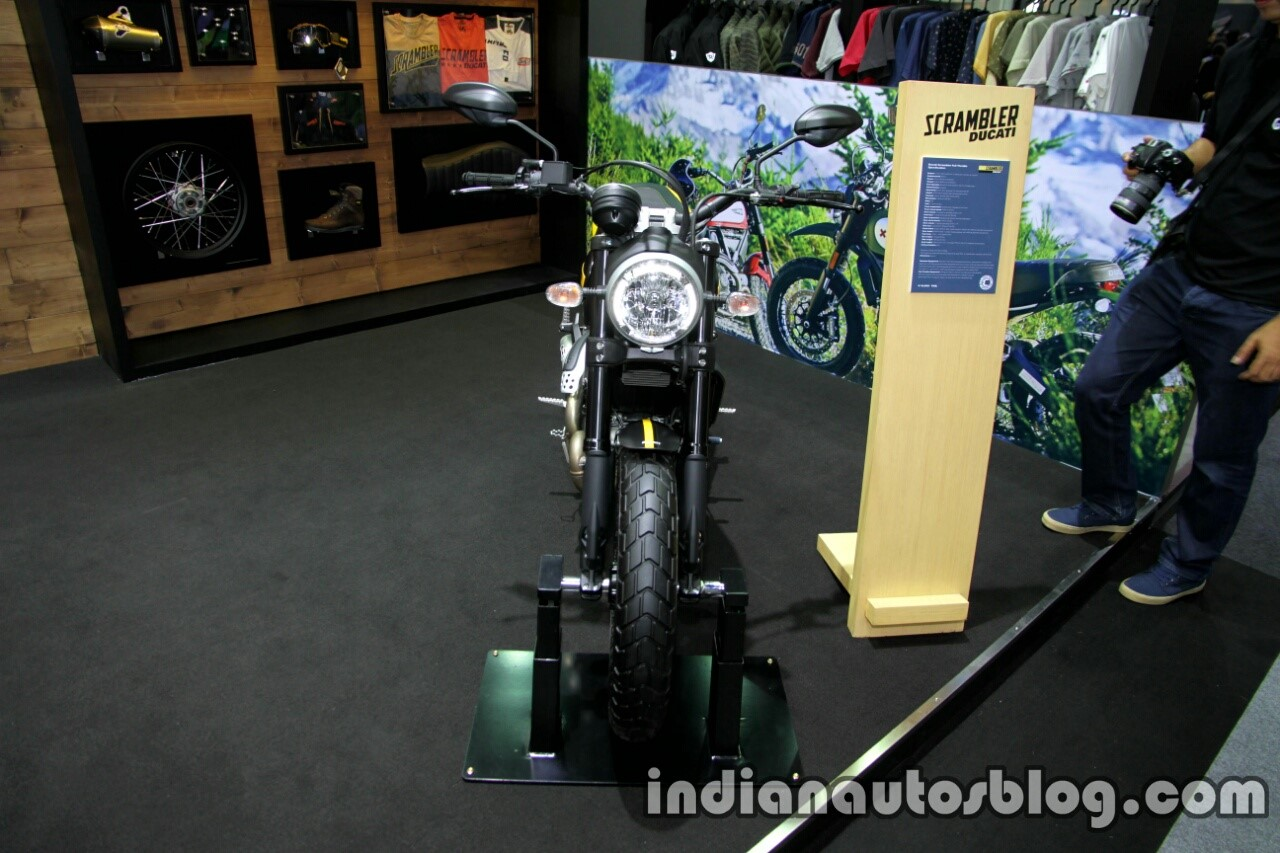 Ducati Scrambler Full Throttle front at Thai Motor Expo